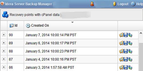 Idera Server Backup Manager