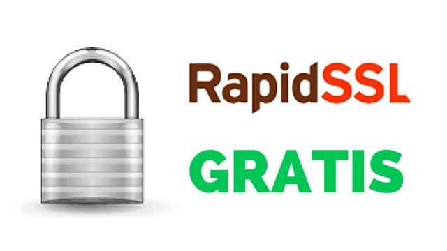 Sertifikat RapidSSL Gratis