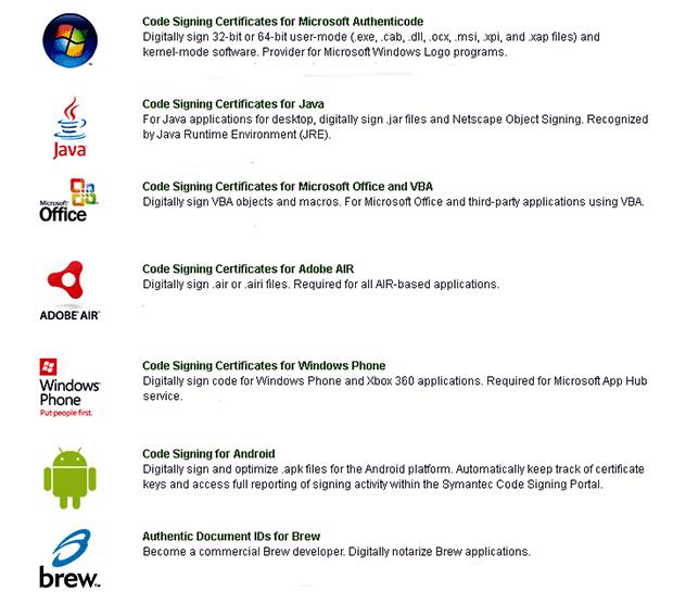 Symantec Code Signing Certificates | Harga Murah - DeDoHo