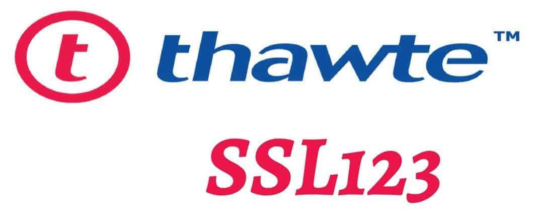 Sertifikat SSL Thawte SSL123 Harga Murah