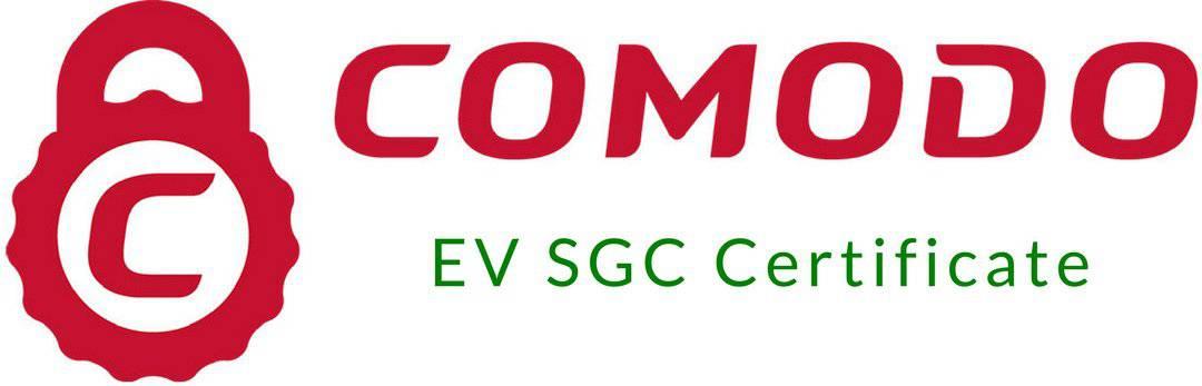Comodo EV SGC SSL Certificate