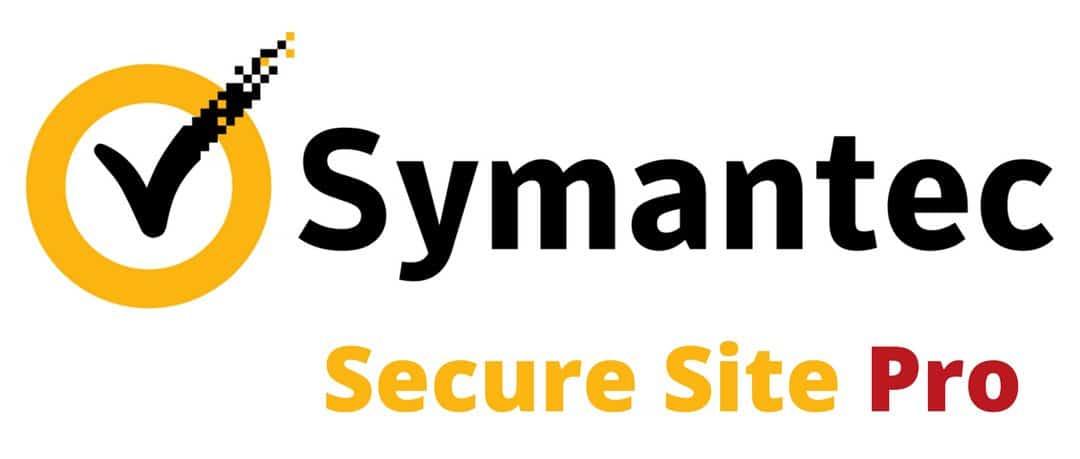 Symantec Secure Site Pro SSL