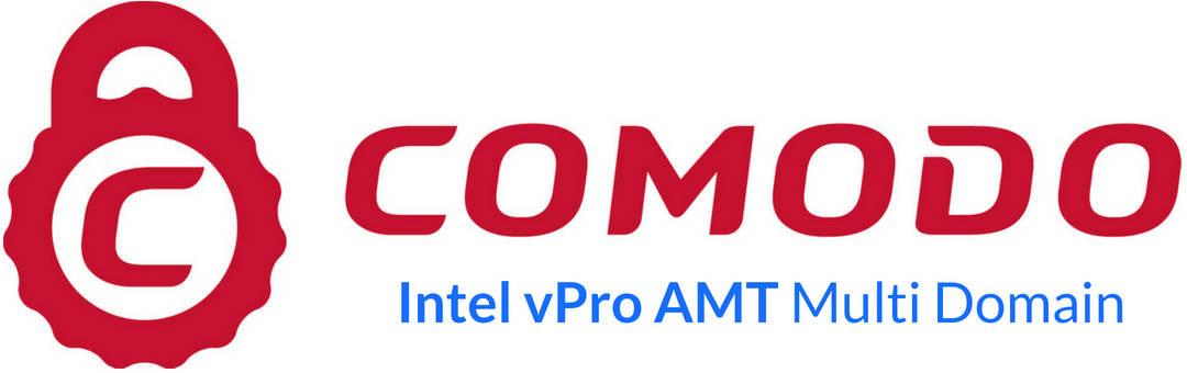 Sertifikat SSL Comodo Intel vPro AMT Multi Domain