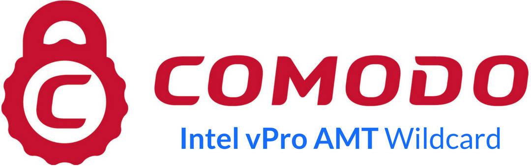 Sertifikat SSL Comodo Intel vPro AMT Wildcard
