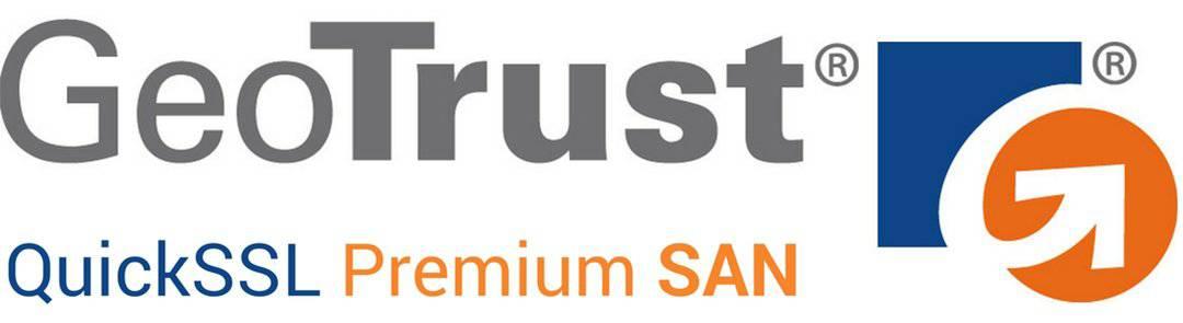 Sertifikat SSL GeoTrust QuickSSL Premium SAN