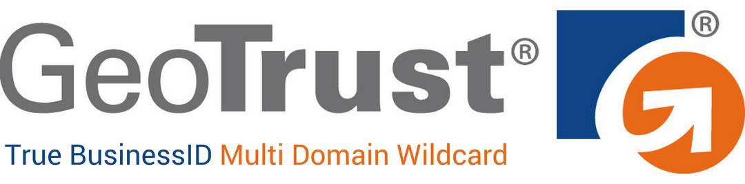 Sertifikat SSL GeoTrust True BusinessID Multi Domain Wildcard
