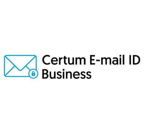 Sertifikat Digital Certum E-mail ID Business