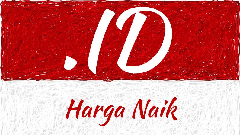 Domain .ID Harga Naik Mulai 1 Agustus 2019
