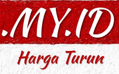 Domain .MY.ID Harga Turun Mulai 17 September 2019
